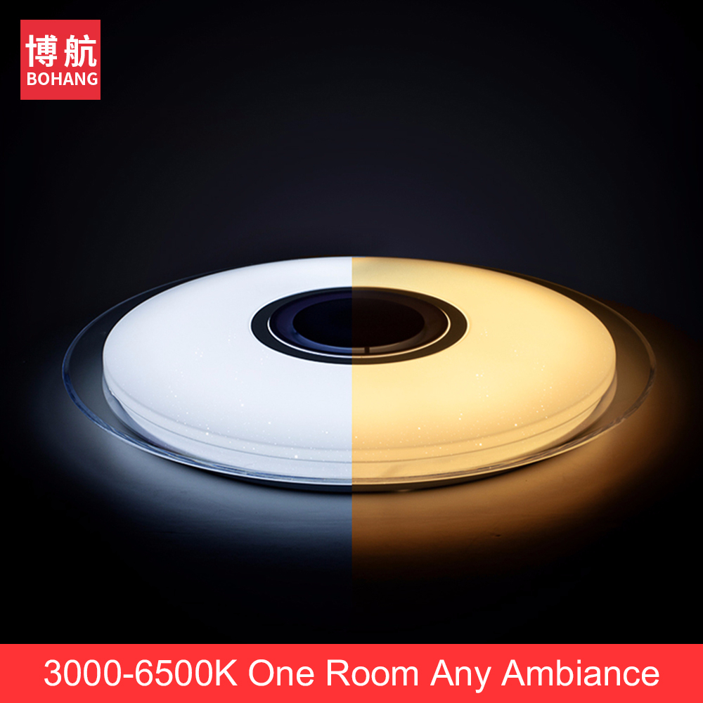 Moderno LED luces de techo RGB regulable 25W 36W 52W APP control - Iluminación interior - foto 5