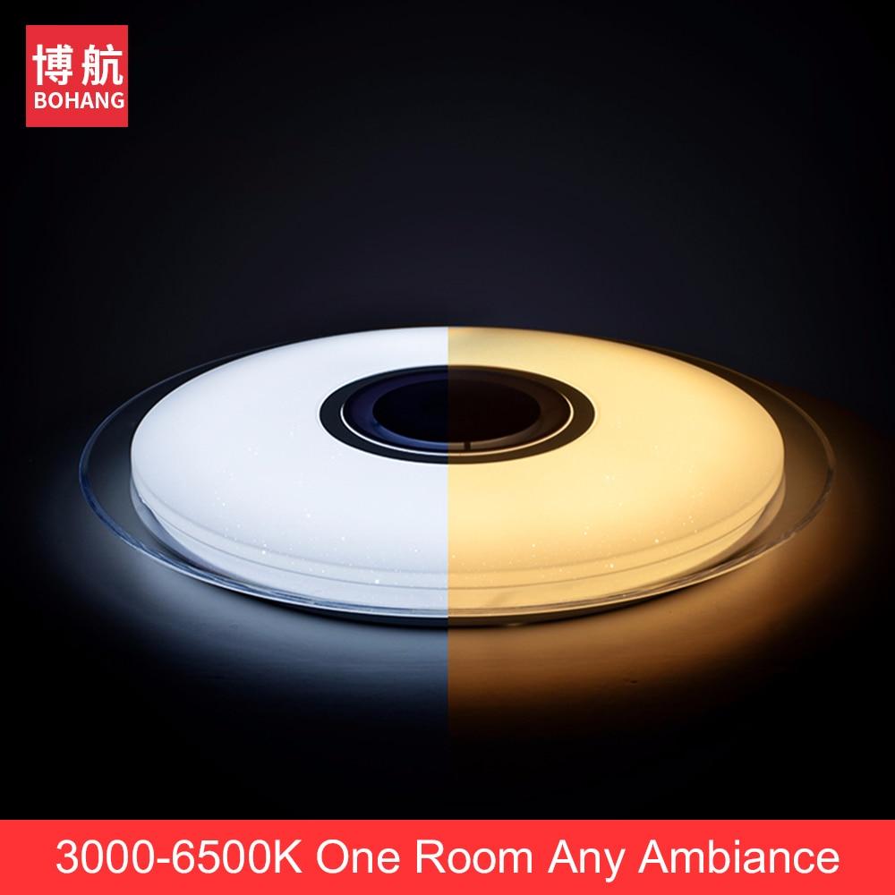 Moderne LED-plafondverlichting RGB dimbaar 25W 36W 52W APP - Binnenverlichting - Foto 5