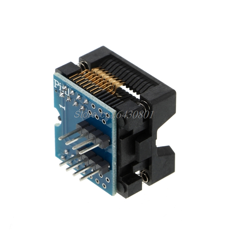 SOP16 to DIP8 Adapter Wide 300mil SOIC16 to DIP8 socket IC programmer adapter for EZP2010 EZP2013 RT809F CH341A Programmer ne602an ne602 dip8