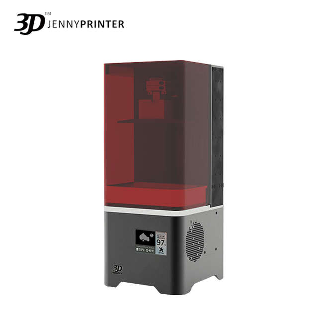 US $839 16 16% OFF|High end Jenny Light 2 mini High Accuracy Resin LCD 3D  Printer with Top Cover 2019 Free Water Washable Resin-in 3D Printers from