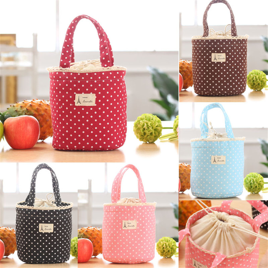 11.11 Dropshiping 2017 Thermal Insulated Lunch Box Cooler Bag Tote Bento Pouch Lunch Container Purchasing B7720
