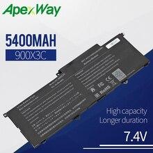 Apexway 3CELLS Laptop Battery for AA-PBXN4AR AA-PLXN4AR BA43-00349A For SAMSUNG 900X3C 900X3D 900X3E NP900X3C NP900X3D NP900X3E