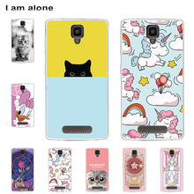 цена на I am alone Phone Cases For Lenovo A1000 4.0 inch Soft TPU Mobile Fashion Color Cute Cover For Lenovo A1000 Bags Free Shipping