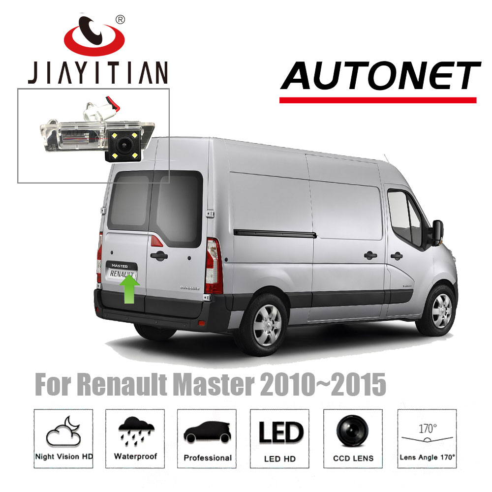 JIAYITIAN Rear View Camera For Renault Master For Opel Movano 2010~2015 CCD Night Vision/ License Plate Camera/Reverse Camera