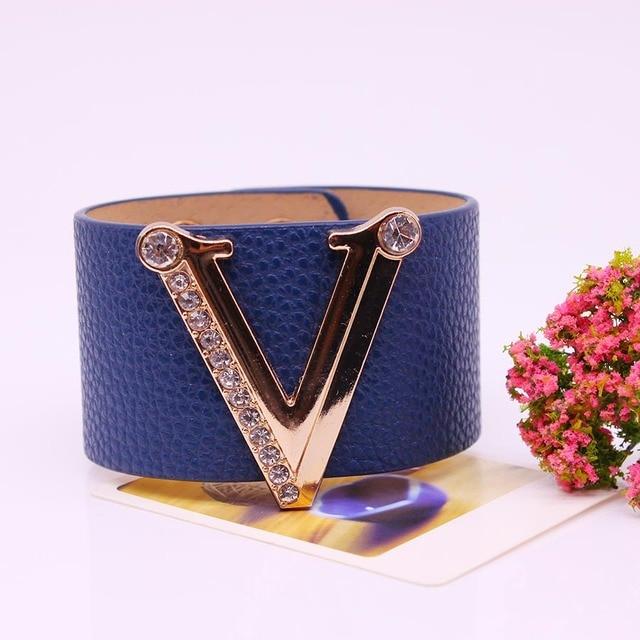 Hand Jewelry Charm Leather...
