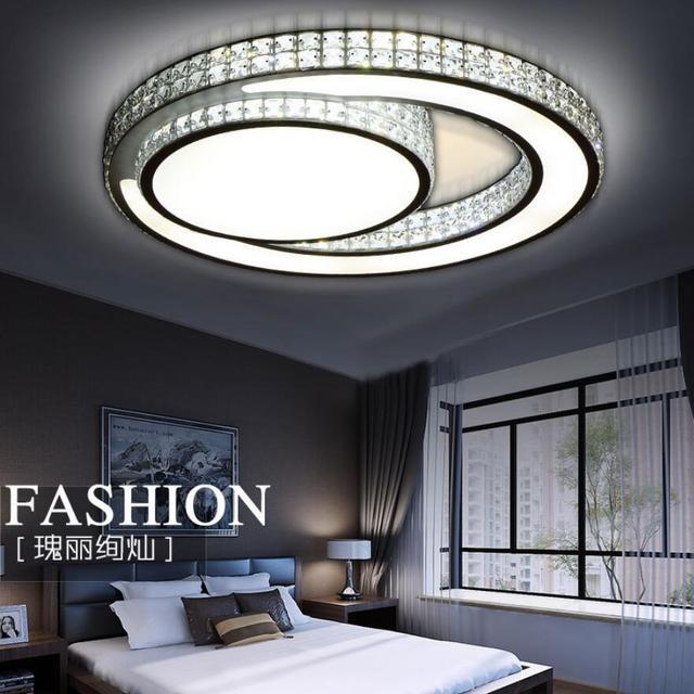 Moderne K9 crystal led Plafond Verlichting led lampen woonkamer ...