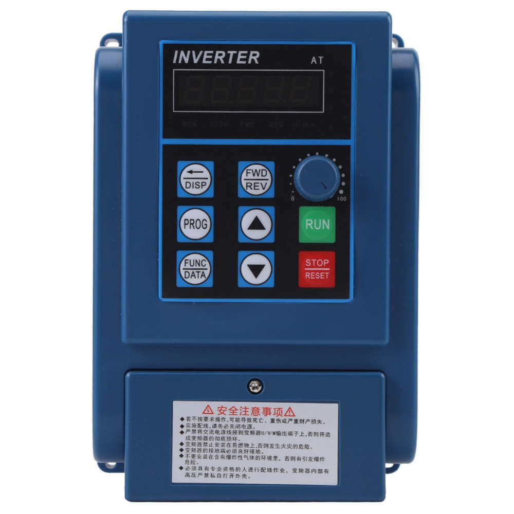 цена на AC 380V 1.5kW 4A Inverter Motor Drive Universal Variable Frequency Drive VFD 3 Phase Speed Controller