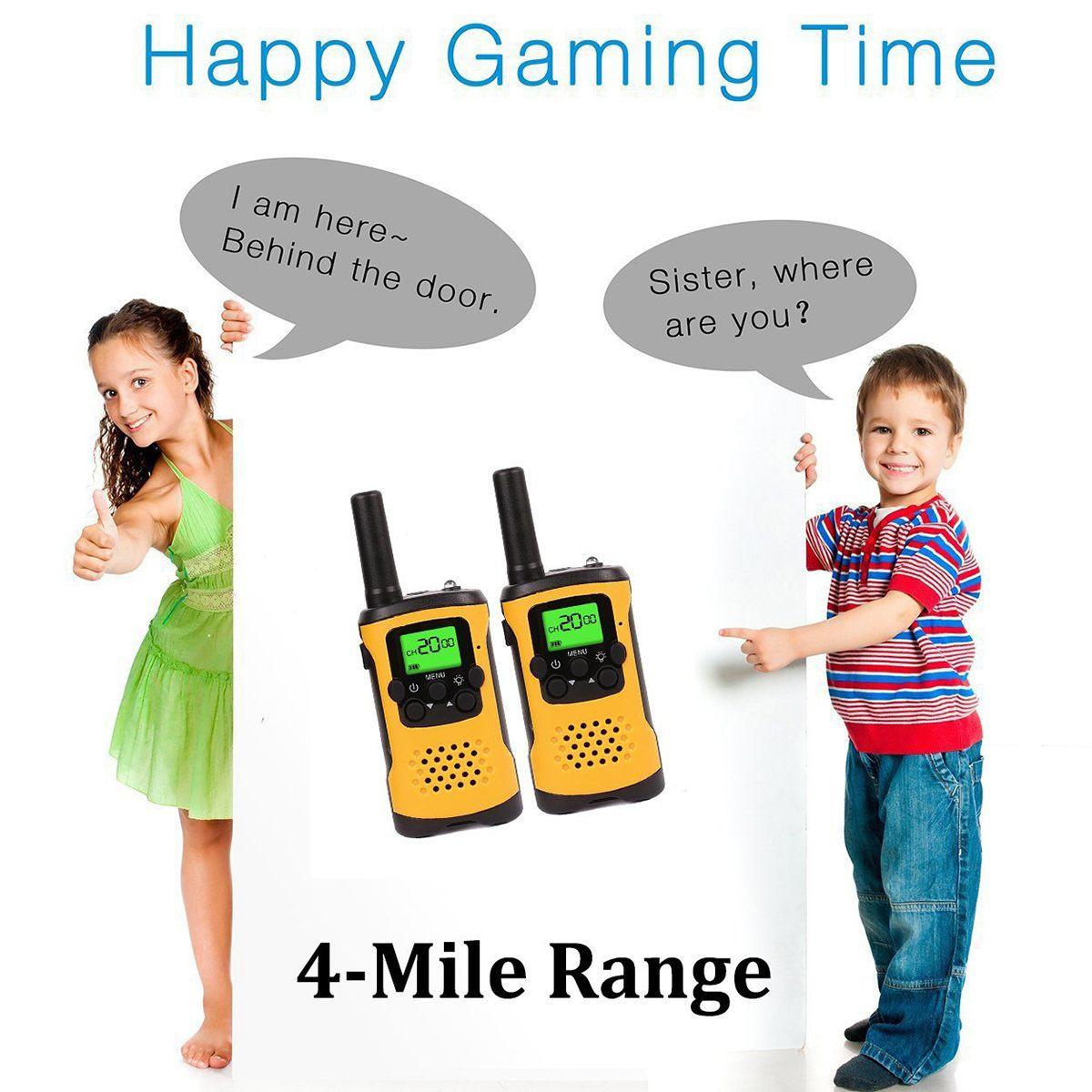 Kids Walkie Talkies With 4-Mile Range 2