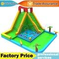 Дешевые жилых надувной аквапарк слайд бассейн для летнего