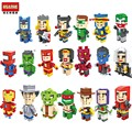HSANHE blocks ego  star wars duplo lepin The Avengers toys stickers playmobil castle starwars orbeez figure doll car brick