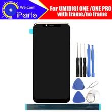 5.9 calowy UMIDIGI jeden wyświetlacz LCD + montaż digitizera ekranu dotykowego 100% oryginalny nowy LCD + dotykowy Digitizer dla UMIDIGI ONE PRO + narzędzia
