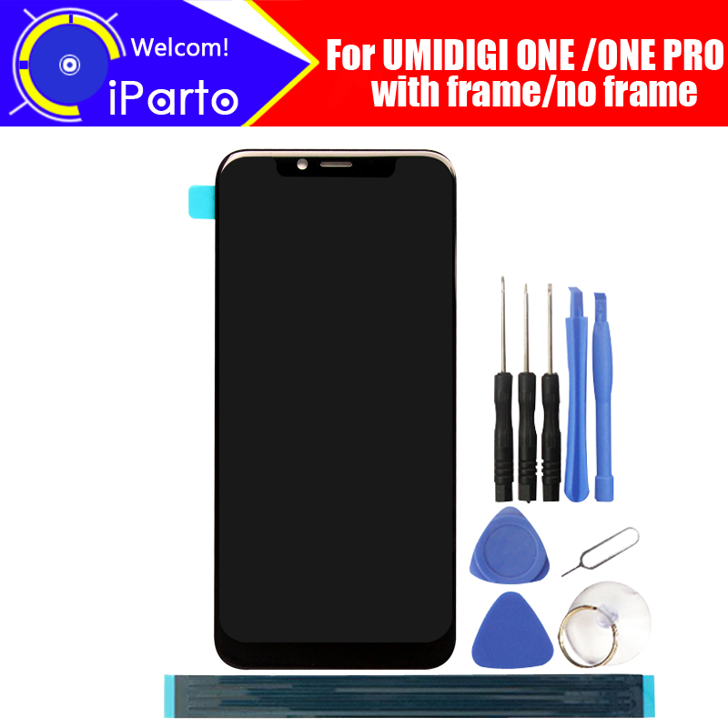 5.9 inch UMIDIGI ONE LCD Display+Touch Screen Digitizer Assembly 100% Original New LCD+Touch Digitizer for UMIDIGI ONE PRO+Tools-in Mobile Phone LCD Screens from Cellphones & Telecommunications    1
