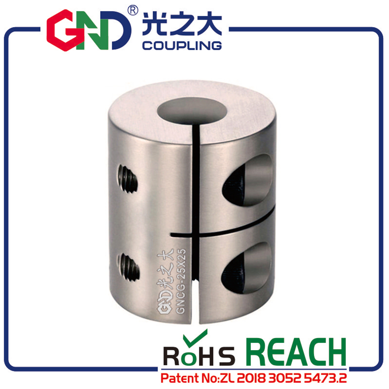 Shaft coupling GND stainless steel high rigidity clamp series for CNC coupler 4/5/6/8/9 not Jaw spider flexible rigidity Coupler