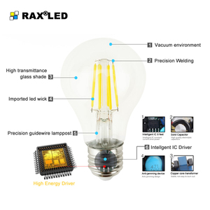 Image 2 - Regulable C35/C35L E14 220V LED filamento vela bombilla 4W 8W 12W Retro antiguo Edison LED E14 vela luces para araña