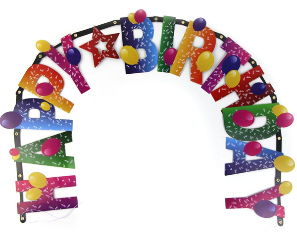 Popular Birthday Banner Letters-Buy Cheap Birthday Banner Letters ...