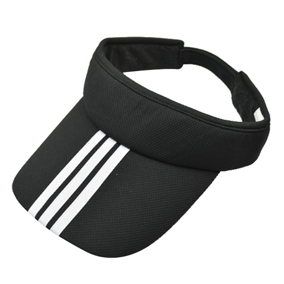 Sports Tennis Golf Sun Visor Hat Hats Adjustable Plain Bright Color Men Women red