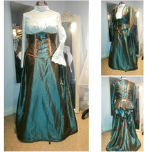 1860S Victorian Corset Gothic/Civil War Southern Belle Ball Gown Dress Halloween dresses  CUSTOM MADE R569