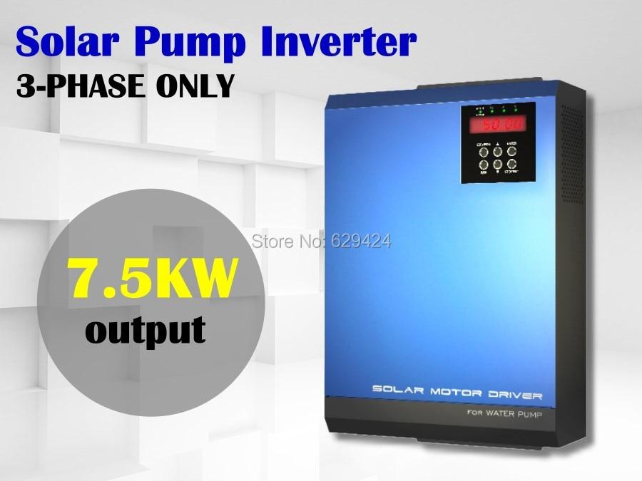 buy 3 phase solar water pump inverter solar pump inverter from reliable. Black Bedroom Furniture Sets. Home Design Ideas