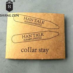 SHANH Зун 2 шт. модное Металл Воротник из нержавеющей стали остается 2,2 дюйм(ов)