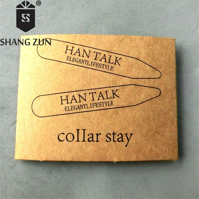 SHANH ZUN 2 Pcs Fashional Metal Stainless Steel Collar Stays 2.2 Inches