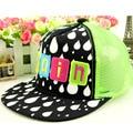 2016 summer children flat fashion top hat outdoor casual luminous mesh hat style hip hop baseball cap boy net hats free