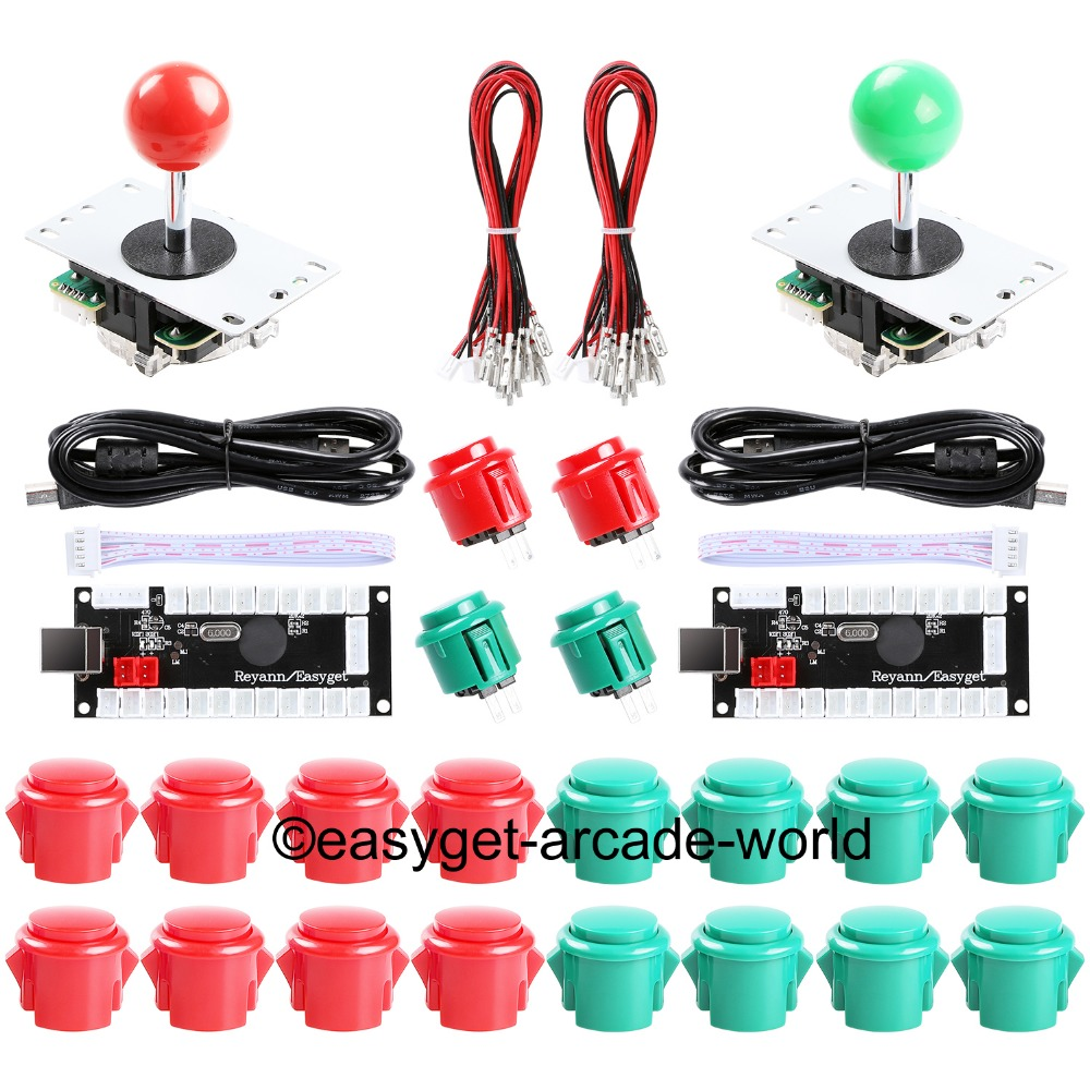 Cheap Arcade Joystick DIY Kit Zero Delay USB Controller PC to Arcade  Joystick + Push Buttons + Wire Harness for MAME & Raspberry Pi 3B -  MARIASHOP GA