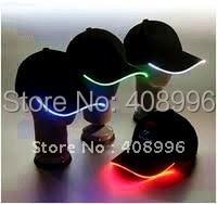 Светящаяся широкополая шляпа для танцев или вечерней вечеринки/шапки для отдыха