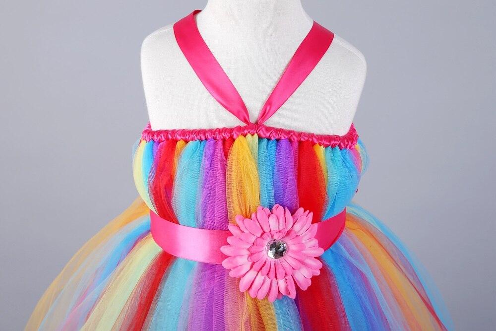 Contemporáneo Vestido De Fiesta De Arco Iris Ideas Ornamento ...