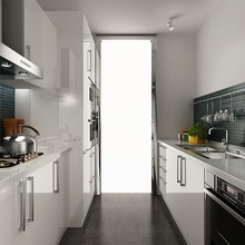 Австралийский проект Бытовая кухонная мебель современный кухонный гарнитур(OP14-L02