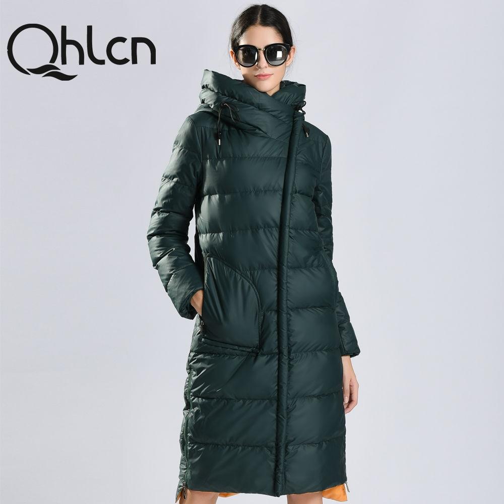 QHLCN 2016 womens winter down jackets and coats women High ...