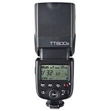 Original Godox TT600S Multifunctional 2.4G Wireless X System Speedlite Master and Slave Camera Flash Light for Sony