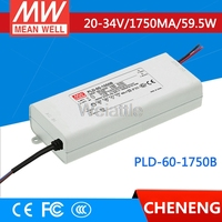 MEAN WELL original PLD 60 1750B 34V 1750mA meanwell PLD 60 34V 59.5W Single Output LED Switching Power Supply