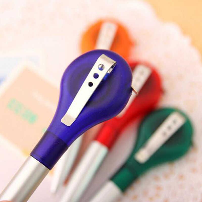 Рулетка, шариковая ручка с измерением, Шариковые канцелярские принадлежности для творчества ручка, рулетка, ручка для измерения жизни, работы, школьные принадлежности