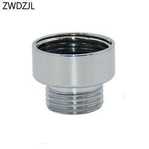 Image 4 - Nữ 3/4 to1/2 nam brass adapter G3/4 Giảm doanh G1/2 threaded Nối máy giặt Nối phụ kiện 1 cái