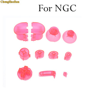 Image 3 - ChengHaoRan 21 colors Analog Joystick controller Button  Grip Stick Cap For NGC Controller Y X A B Z Buttons for Gamecube