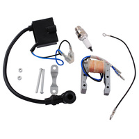 For Magneto Stator 48cc 49cc 66cc 80cc Engine Bicycle Scooter Racing Ignition Coil CDI Box Spark