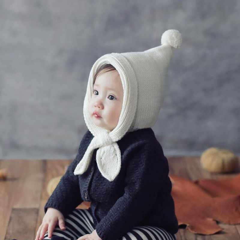 Новорожденный реквизит для фотосъемки детская шапка вязаная длинная шапка с хвостом вязаная крючком теплая шапка фотосессия реквизит для фотосъемки DIY детский альбом подарок 2018
