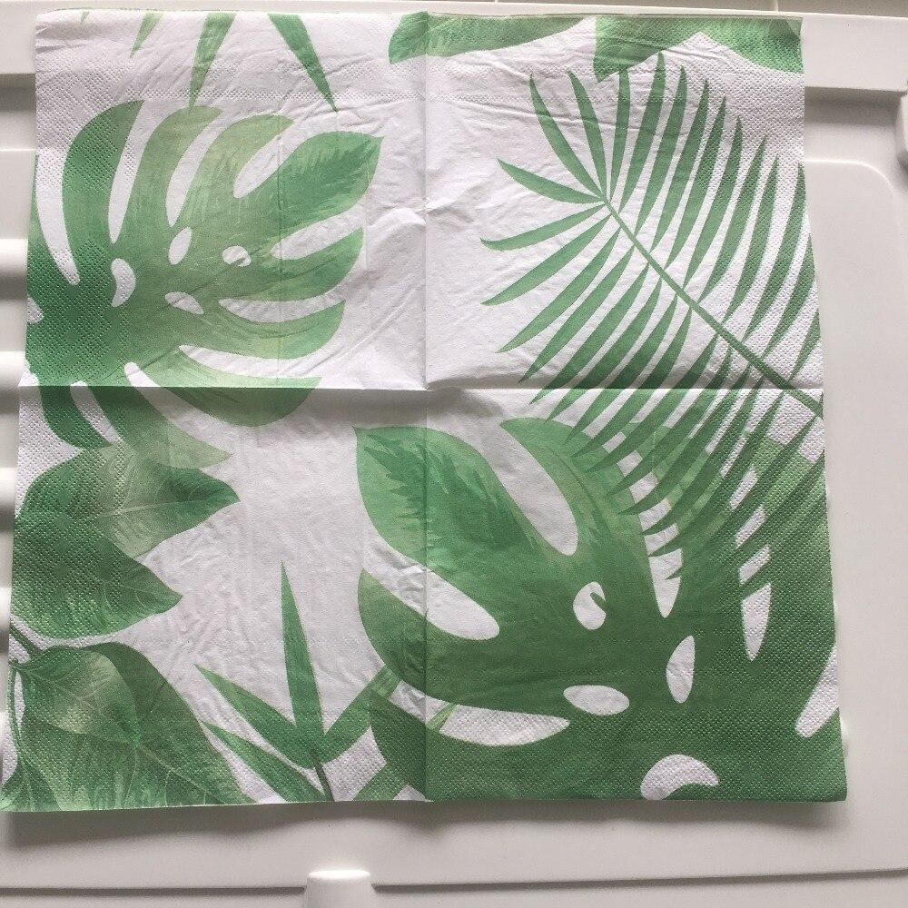 Weddings Parties Serviettes for Decoupage Florida Palms 2 Paper Napkins
