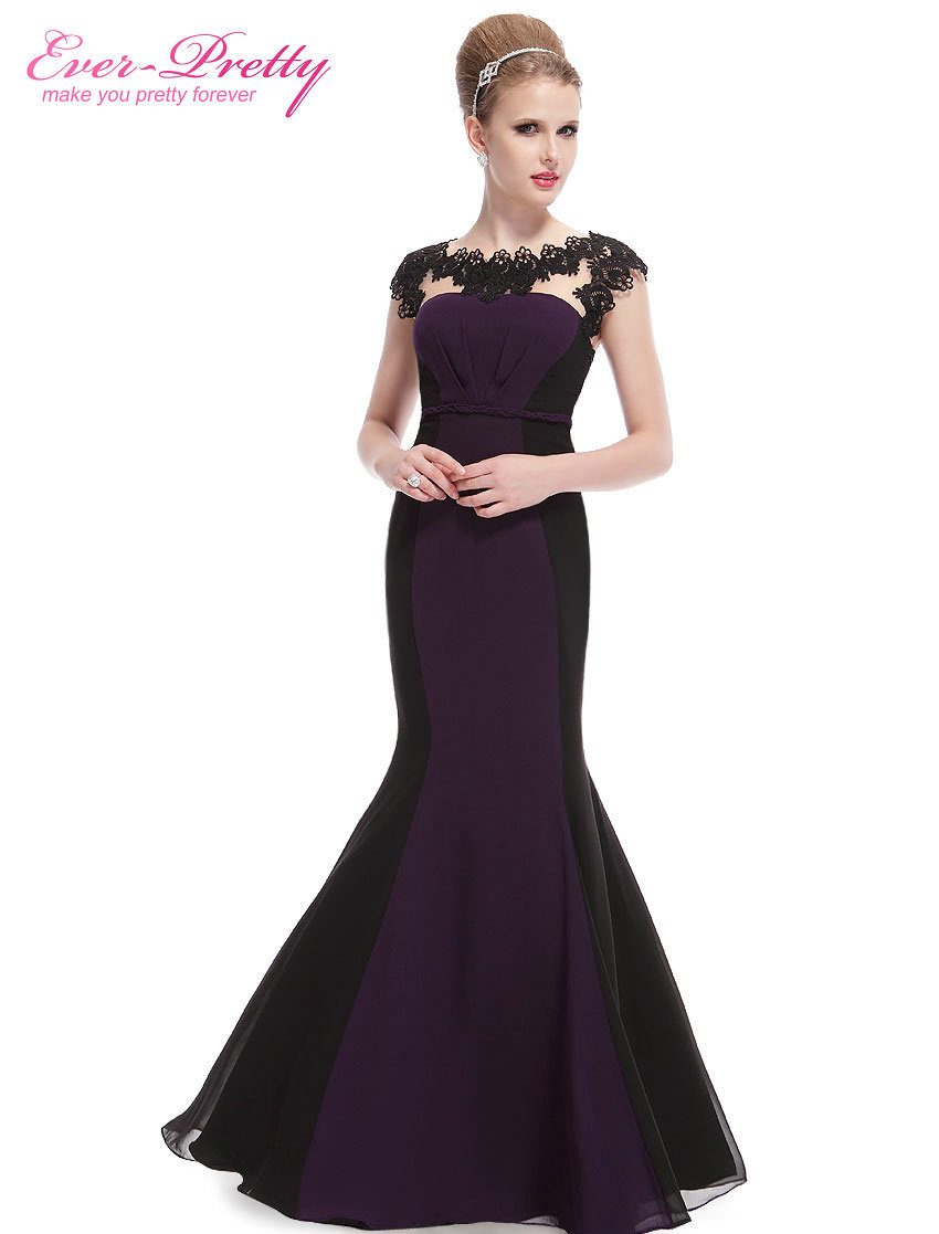 Clearance sale evening dresses mermaid sexy purple for Purple summer dresses for weddings