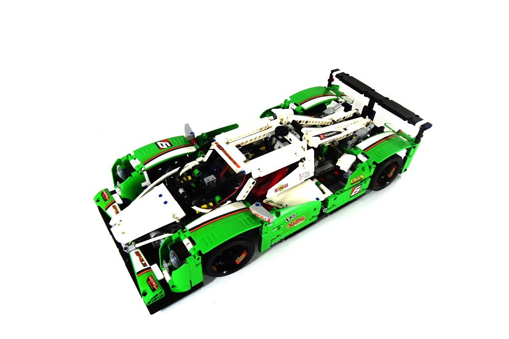CX 20003B 1249Pcs Model building kits Compatible with <font><b>Lego</b></font> <font><b>42039</b></font> 24 Hours Race Car 3D Bricks figure toys for children image