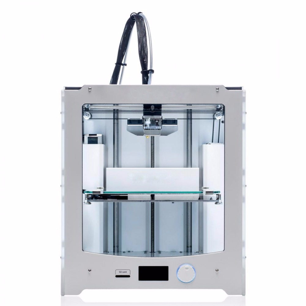 new DIY UM2+ Ultimaker 2+ 3D printer DIY copy full kit/set with 1.75mm extruder (not assemble) Ultimaker2+ 3D printer 2017 jennyprinter3 z360ts z370 dual extruder nozzle 3d printer diy kit for ultimaker 2 um2 extended with top cover and door