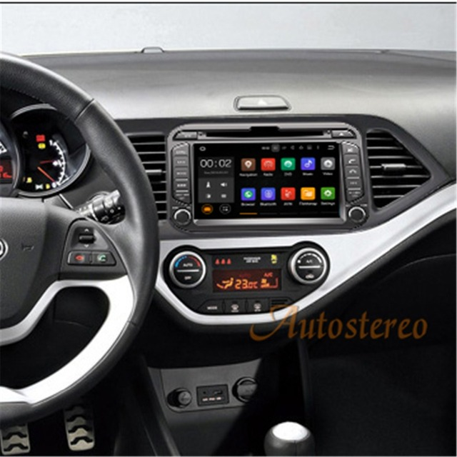 Android 71 2gb Ram Quad Core Car Dvd Player Gps Navigation Radio