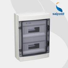 Saip High Quality IP65 24-way Outdoor Electrical Distribution Box, ABS Waterproof Junction Box SHA-24 (420*295*130m)