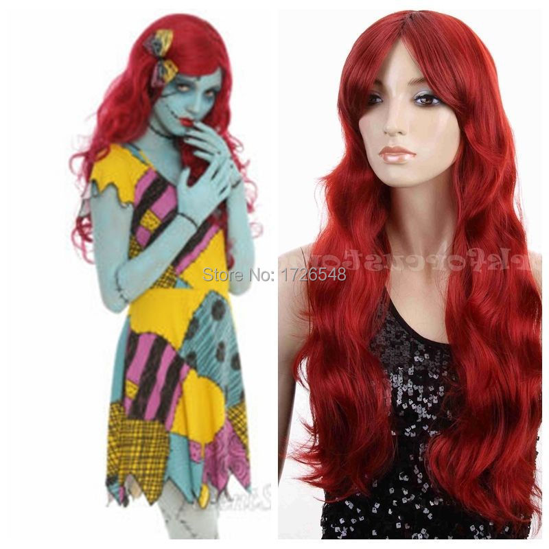 CS85w000000014LONG WAVY HAIR WIG HALLOWEEN PARTY COSTUME ARIEL POISON IVY RED on Aliexpress.com | Alibaba Group  sc 1 st  AliExpress.com & CS85w000000014LONG WAVY HAIR WIG HALLOWEEN PARTY COSTUME ARIEL ...