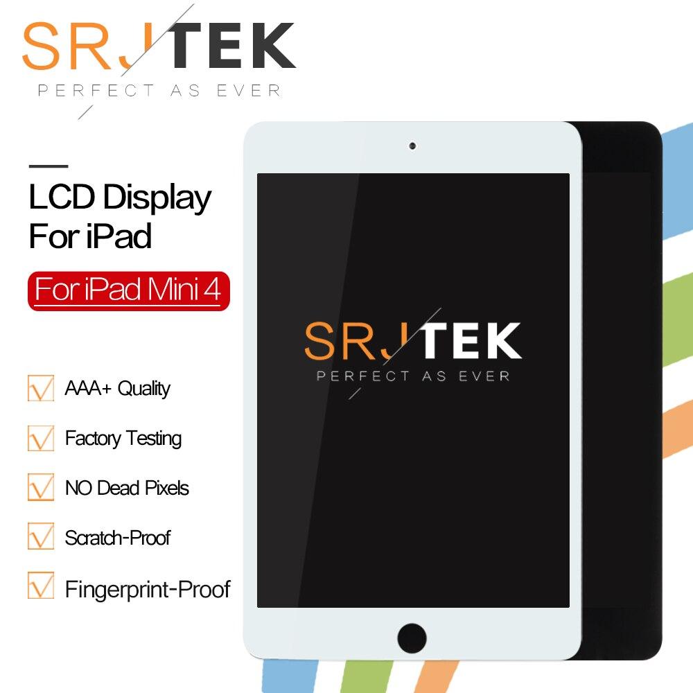 Matrice pour iPad Mini 4 LCD affichage Mini4 A1538 A1550 écran tactile numériseur capteur LCD panneau assemblage sans bouton maison Mini 4