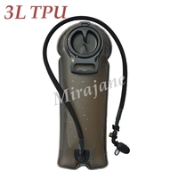 Free Shipping 3L TPU Army Style Camping Hydration Bladder Backpack Water Reservoir Movement Water Bag