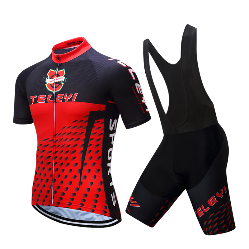Summer Pro Team Short Sleeve Cycle Clothing 2018 Men MTB Racing Bike Jersey Male Bicycle Clothes Sets Maillot Cycling Equipment santic men cycling sets short sleeve pro fit anti uv racing team sports wear mtb road jersey cycling clothing male wm6ct056b