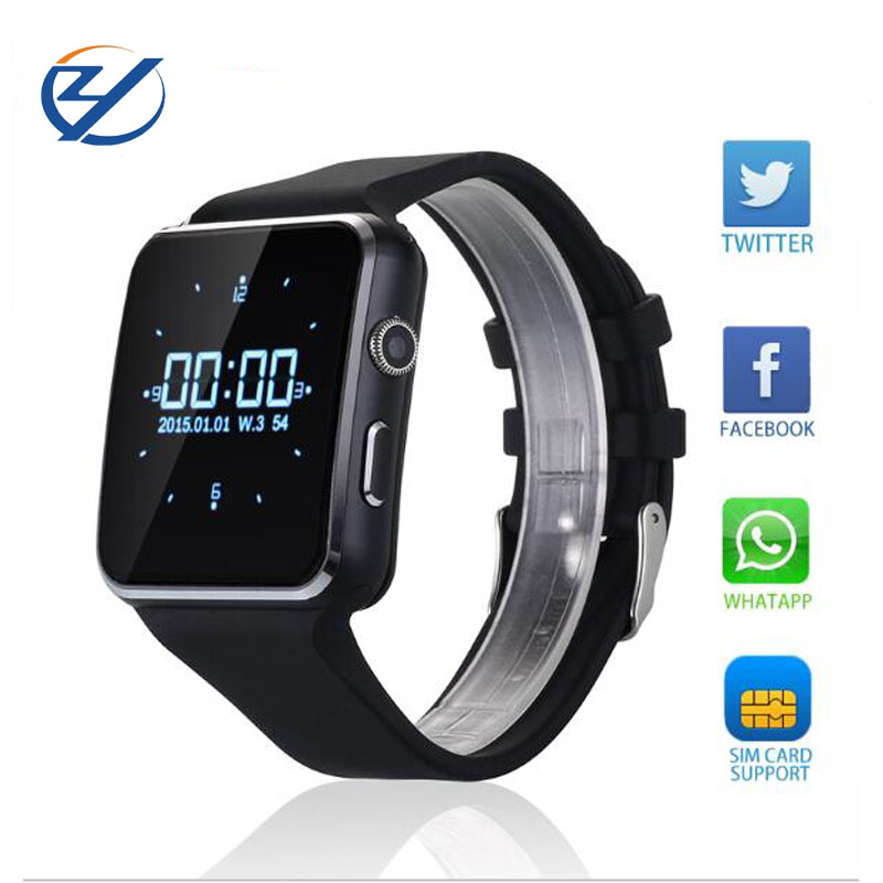New Bluetooth Smart Watch font b Smartwatches b font For iPhone Android support SIM Card relogio