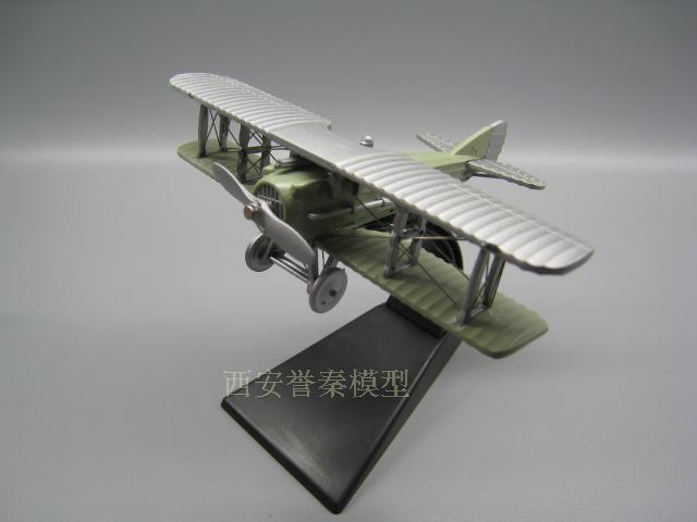 AMER 1/72 Scale Military Model Toys 1916 SPAD S.VII GEORGES GUYNEMER Fighter Diecast Metal Plane Model Toy For Collection/Gift