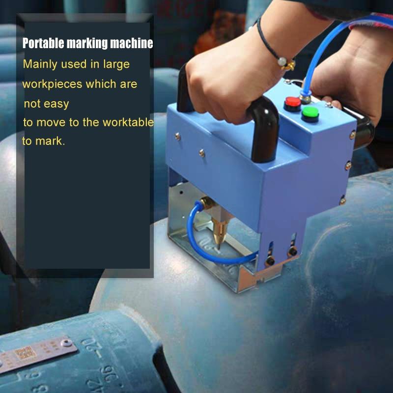 China Suppliers Cnc Dot Pin Marking Machine Vin Numberpneumatic Dot Peen Marking Machine